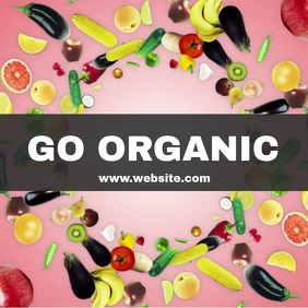 Organic healthy diet