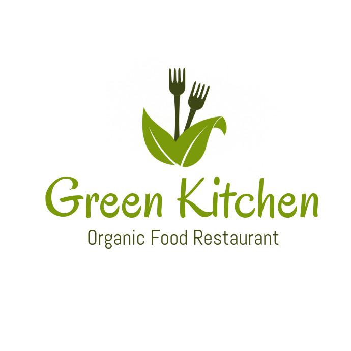 Organic Restaurant Logo