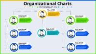 Organizational Charts Digital Display (16:9) template