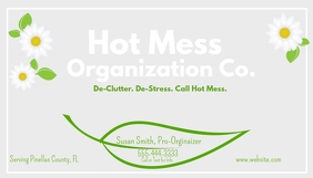 Organizing Company Business Card
