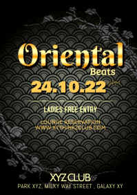 Oriental Beats Party Dj Event Bar shisha