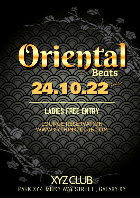 Oriental Beats Party Dj Event Bar shisha