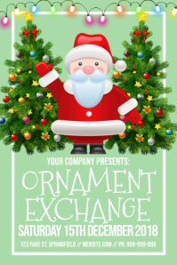Ornament Exchange Poster