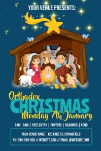 Orthodox Christmas Poster