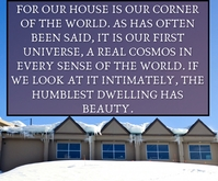 OUR HOUSE QUOTE TEMPLATE Medium Rectangle