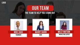 Our team Presentation Slide template
