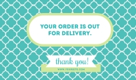 Out For Delivery Templates Merker