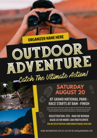 Outdoor Adventure Flyer