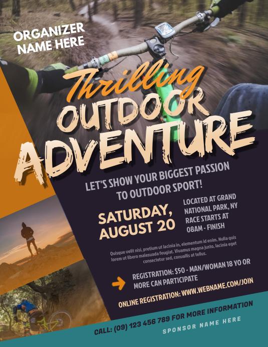 Outdoor Adventure Flyer