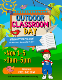 Outdoor Classroom Day Flyer