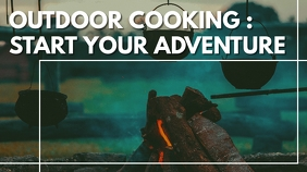 outdoor cooking youtube thumbnail