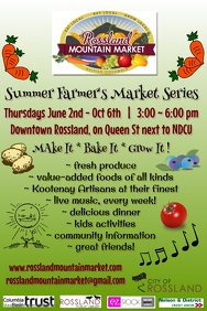 Outdoor Market Event Poster