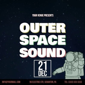 Outer Space Sound Party video ad