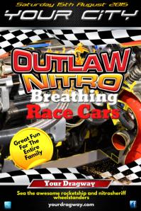 Outlaw Nitro Poster