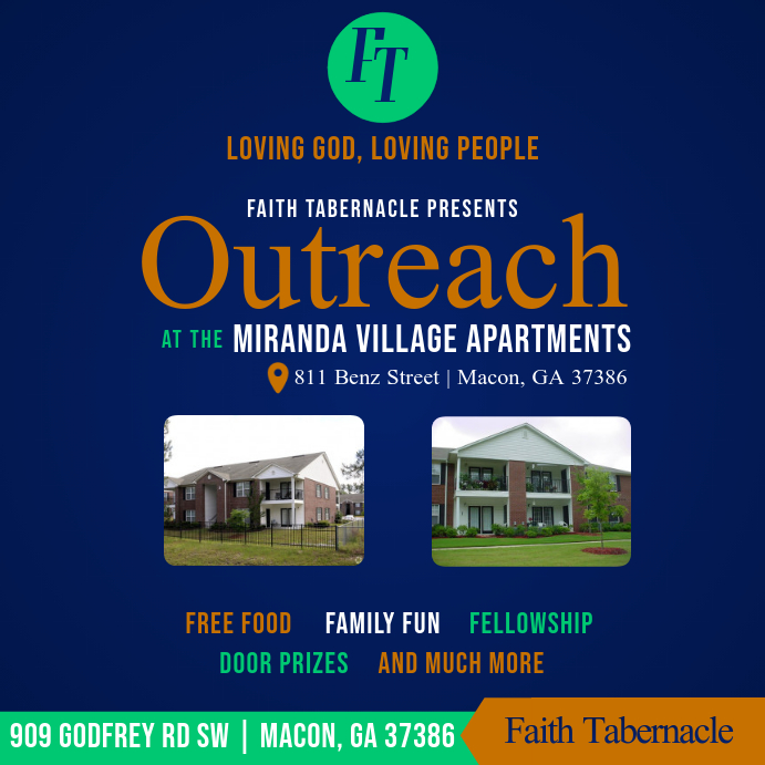 outreach flyer template