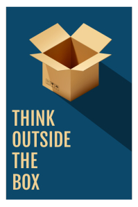 Outside The Box Quote Poster