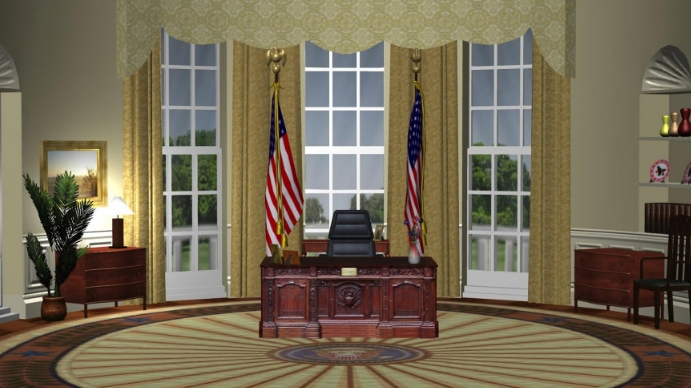 Oval Office Zoom Background Templates Postermywall
