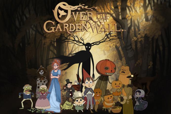 Over The Garden Wall Cartoon Decor Party Birthday Invite Template