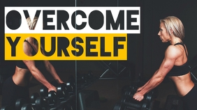 overcome yourself fitness and gym motivationa