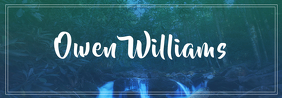 Owen Williams Banner de Tumblr template