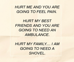 PAIN AND NEED JOKE QUOTE TEMPLATE 巨型广告