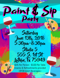 15 950 customizable design templates for paint party postermywall