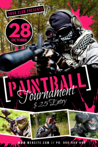 Paint Ball Poster