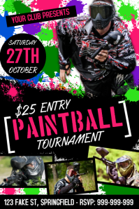 Paint Ball Poster