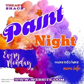 Paint Night Video
