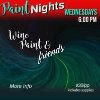 Paint Night Video