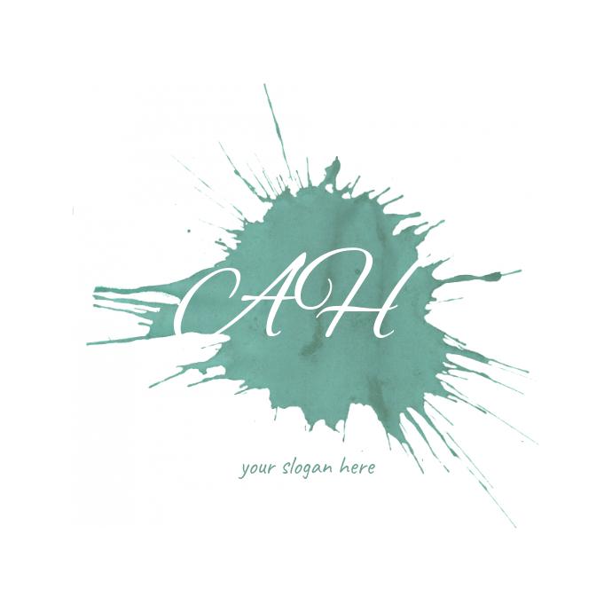 Paint splatter Logo