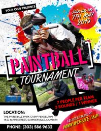 Paintball Tournament Flyer