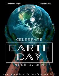 Painted Earth Day Flyer