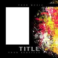 Painterly Gospel Church Album Cover template