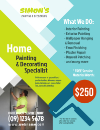 Painting & Decorating Service Flyer