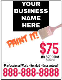 Painting Business Flyer
