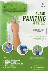 Painting Business Flyer Template