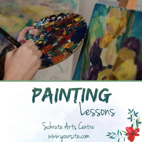 painting lessons video ad