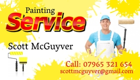 Painting Service Business Card