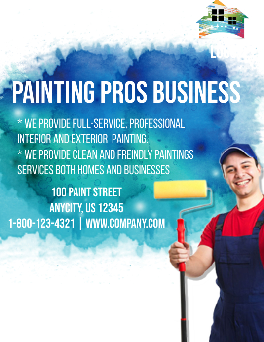 painting service template postermywall
