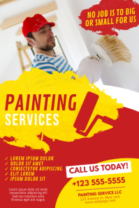 Painting Service Flyer Template