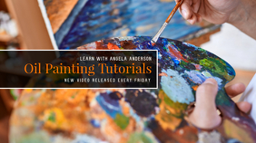 Painting Tutorial Youtube Channel Cover