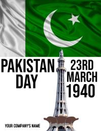 Pakistan Day Flyer