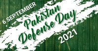 Pakistan defense day,6th september,event delt Facebook-billede template