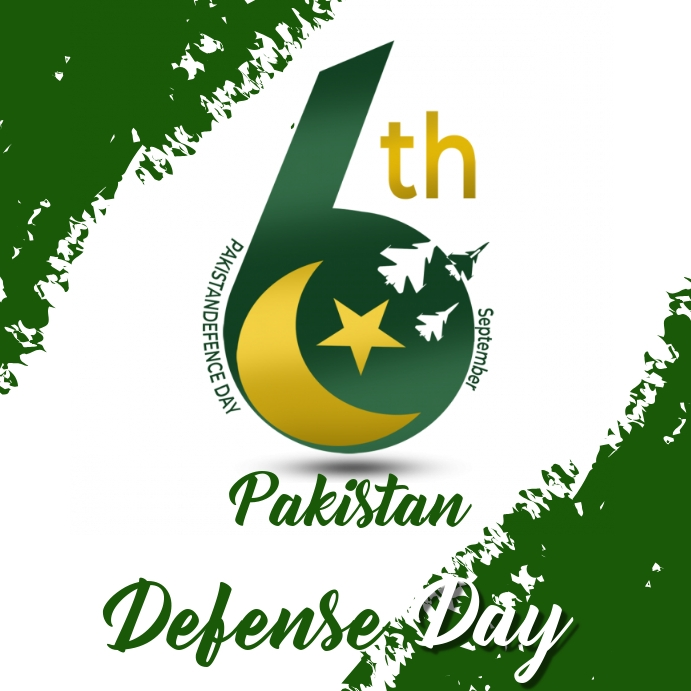 Pakistan defense day,6th september,event Publicação no Instagram template