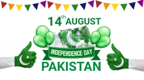 Pakistan Independence Day Pos Twitter template