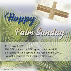 customizable design templates for palm sunday | postermywall