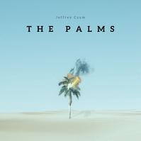Palm Tree Desert CD Cover Music Albumhoes template