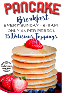 Pancake Breakfast Deal Poster Template
