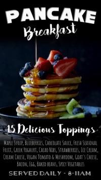 Pancake Breakfast Digital Signage Template